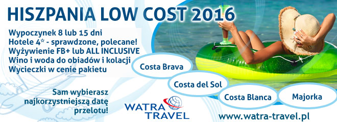0411 hiszpania low cost HOL 2016